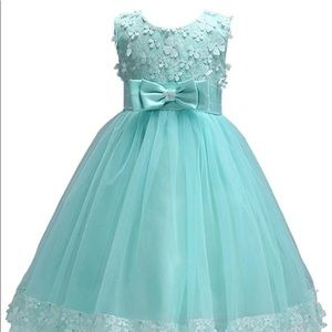 New Girl Flower Lace A-line Party Dresse